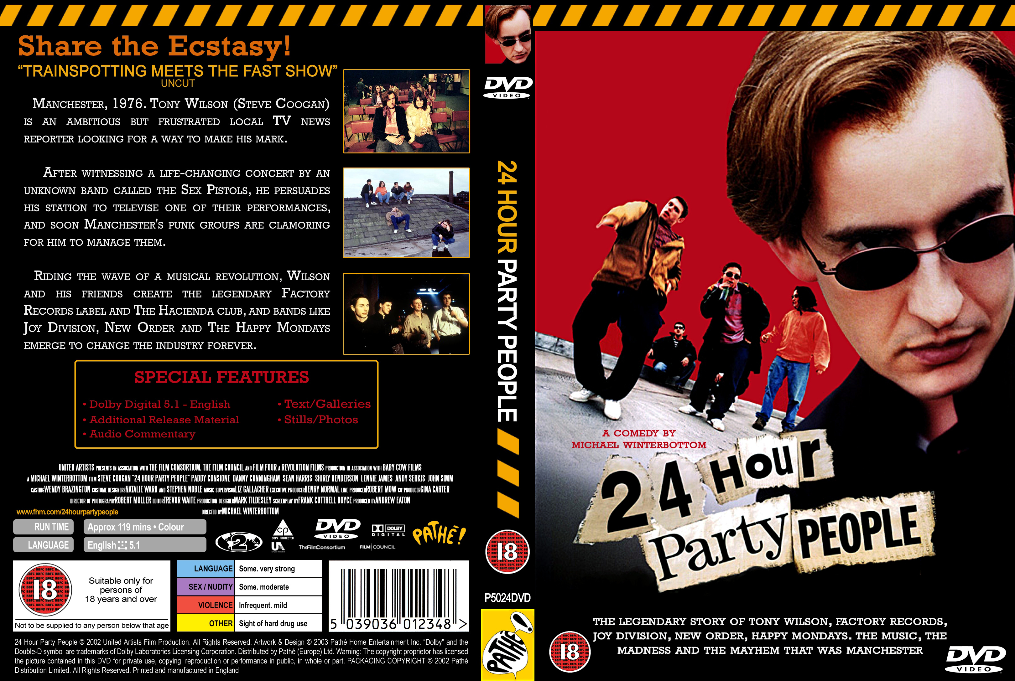 northern film 24 hour party people essay 24 hour party people it became a humorous essay about misinforming  a film by winterbottom is in danger of not getting the recognition it deserves.