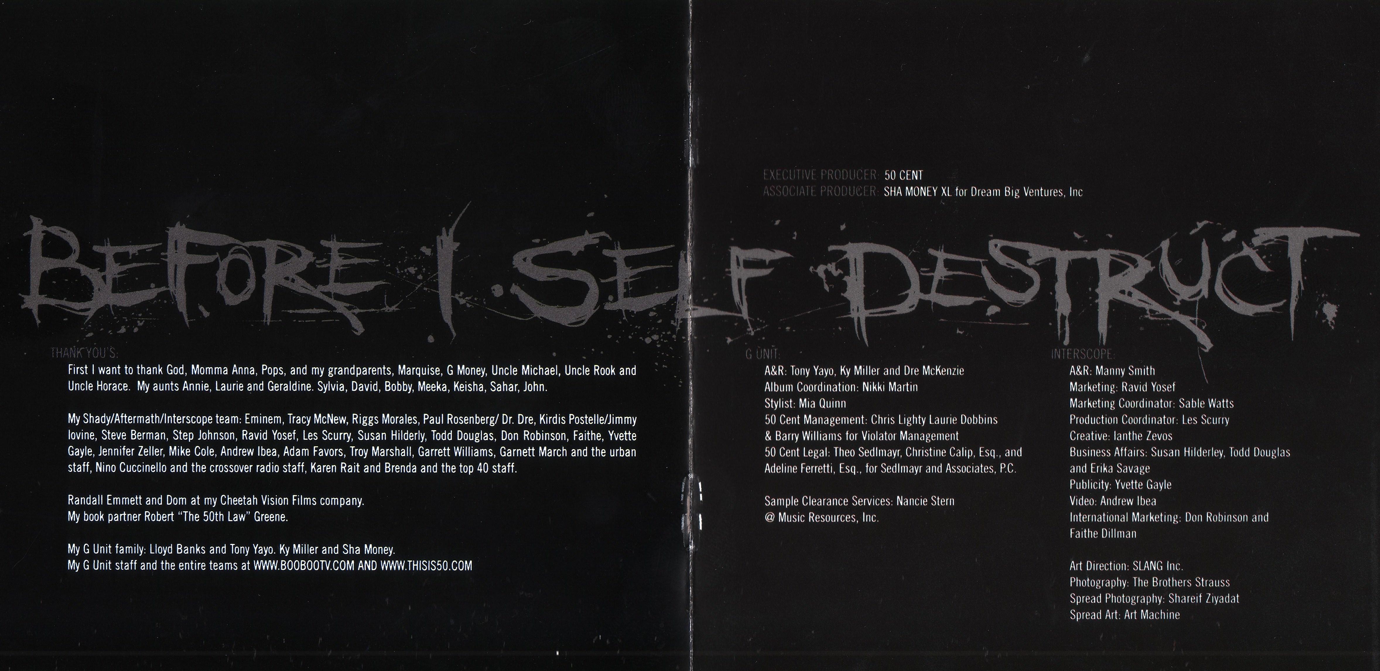 50 Cent Before I Self Destruct Album Cover | www.imgkid ...