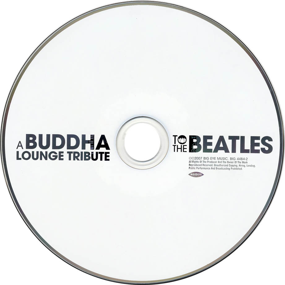 A Buddha Lounge Tribute To The Beatles - CD