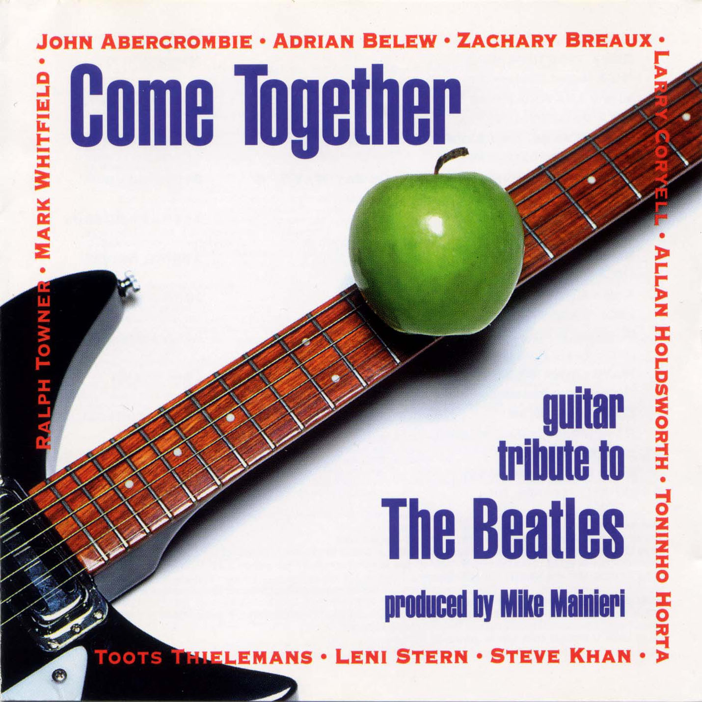 A Guitar Tribute To The Beatles - Come Together - Front