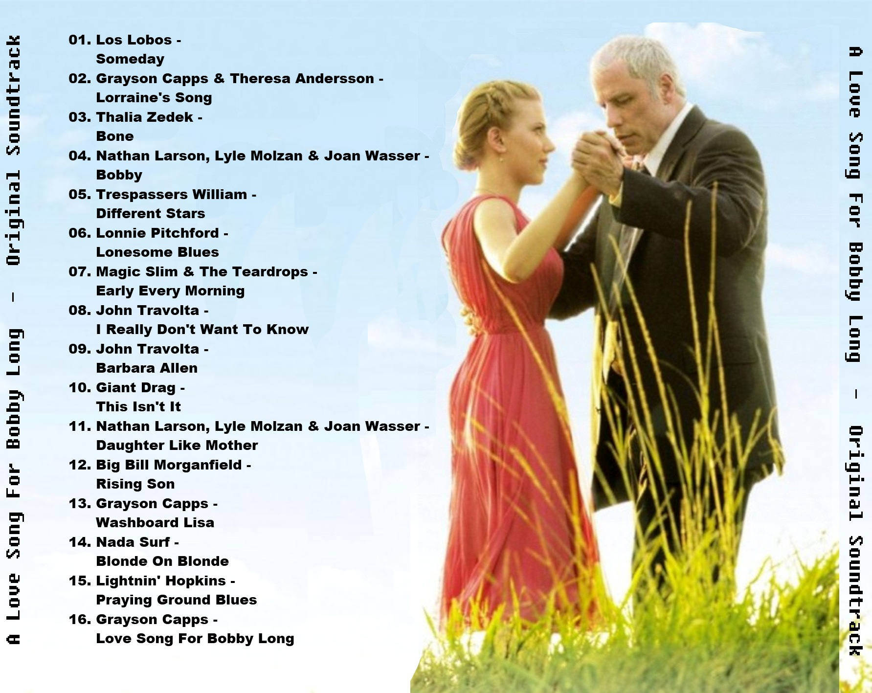 A Love Song For Bobby Long - Soundtrack - Back