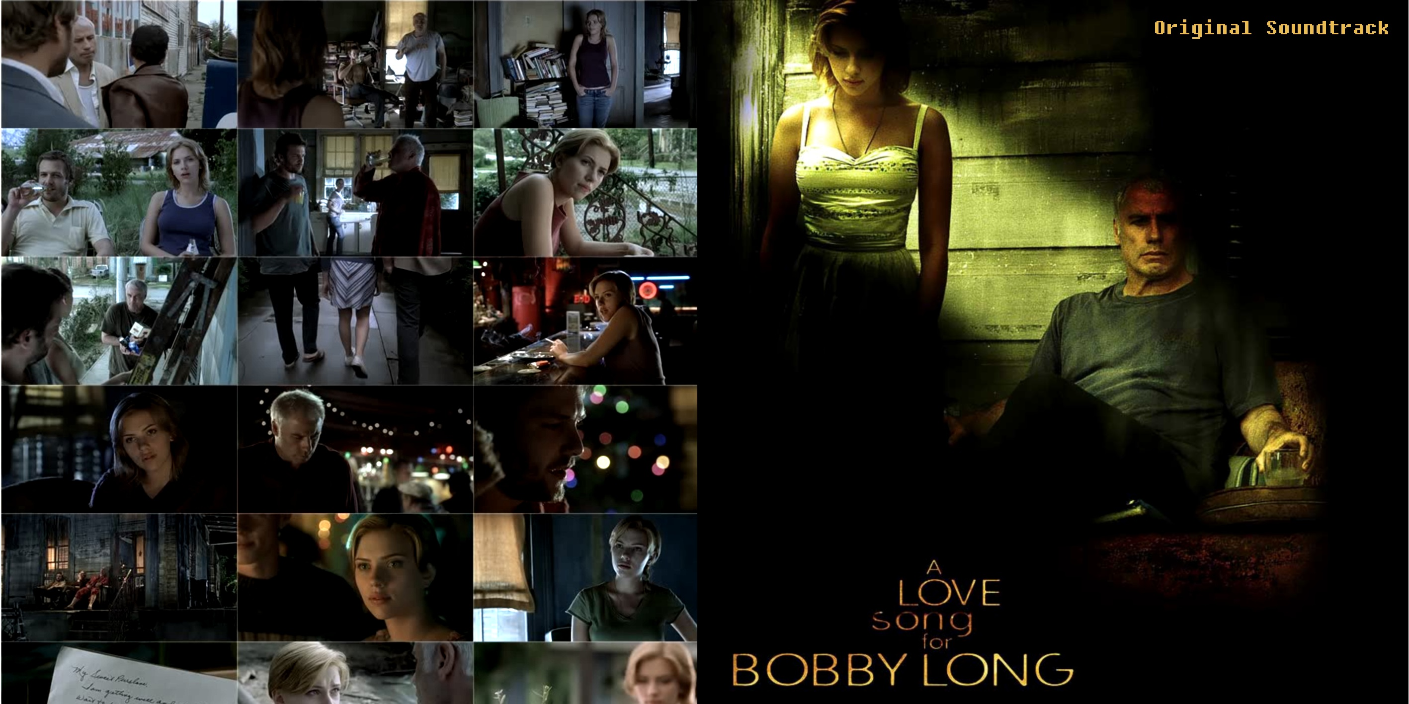 A Love Song For Bobby Long - Soundtrack - Booklet