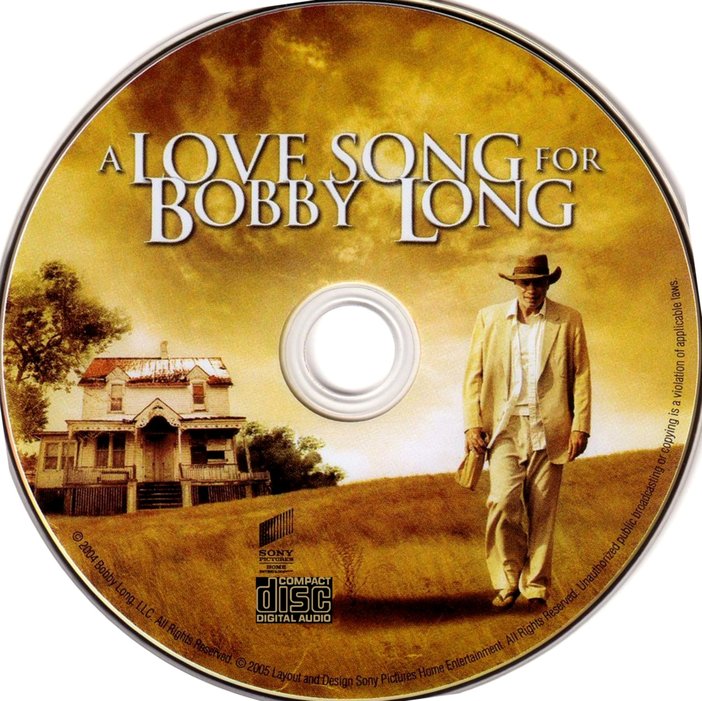 A Love Song For Bobby Long - Soundtrack - CD