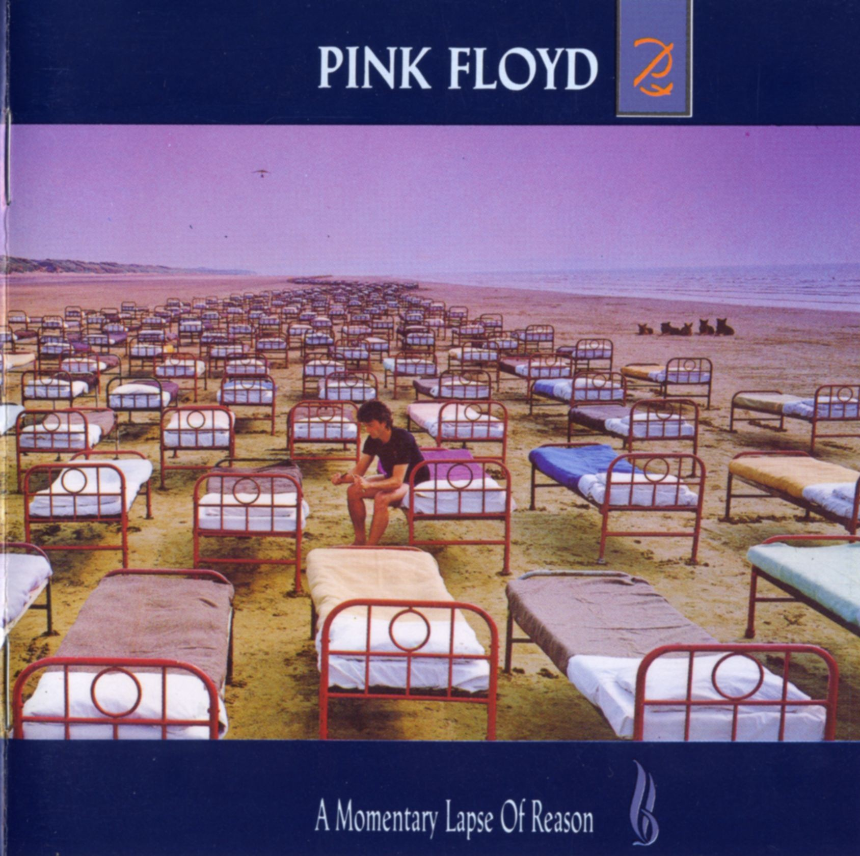 A momentary lapse of reason - Pink Floyd - front