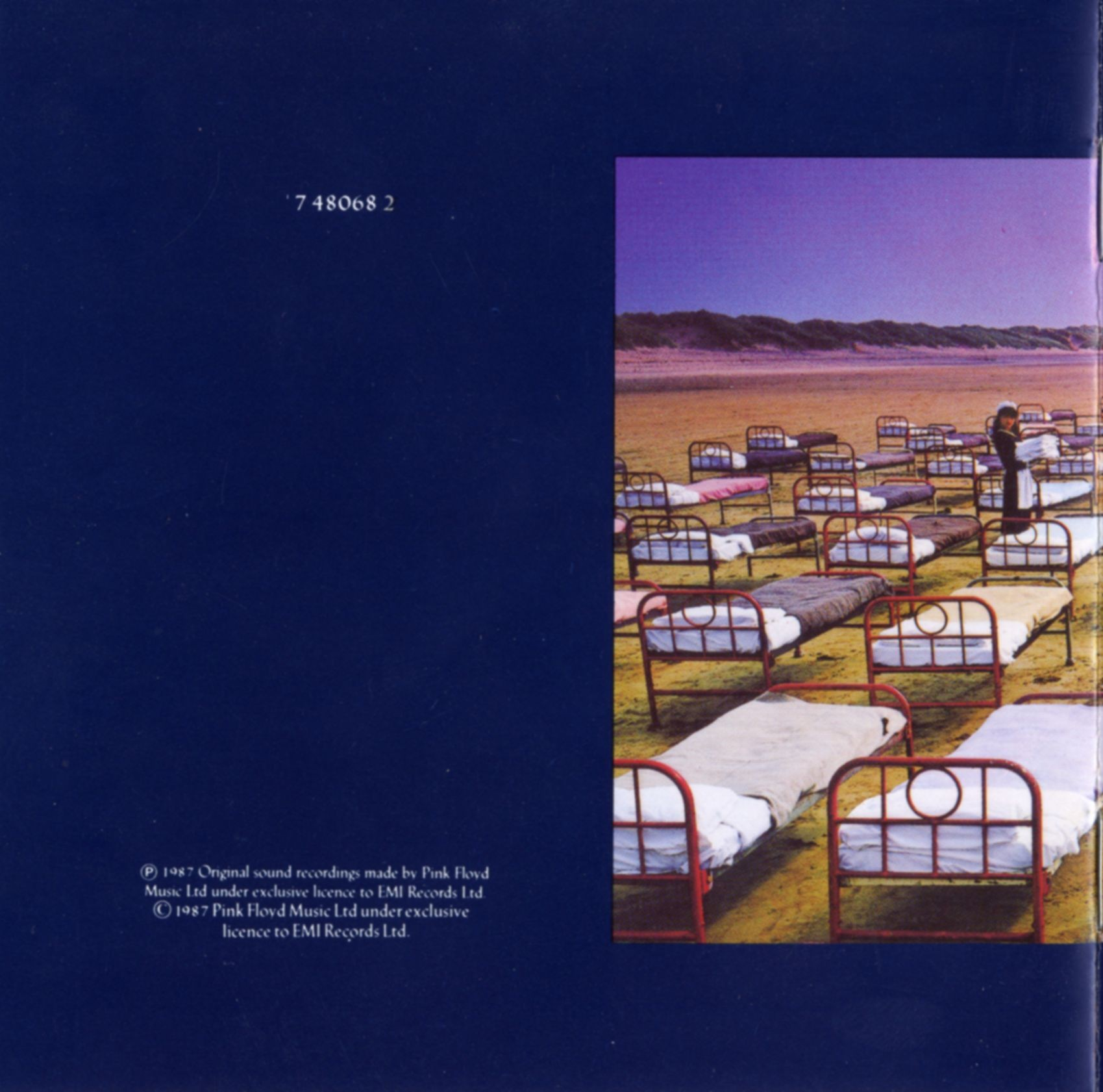 A momentary lapse of reason - Pink Floyd - inside