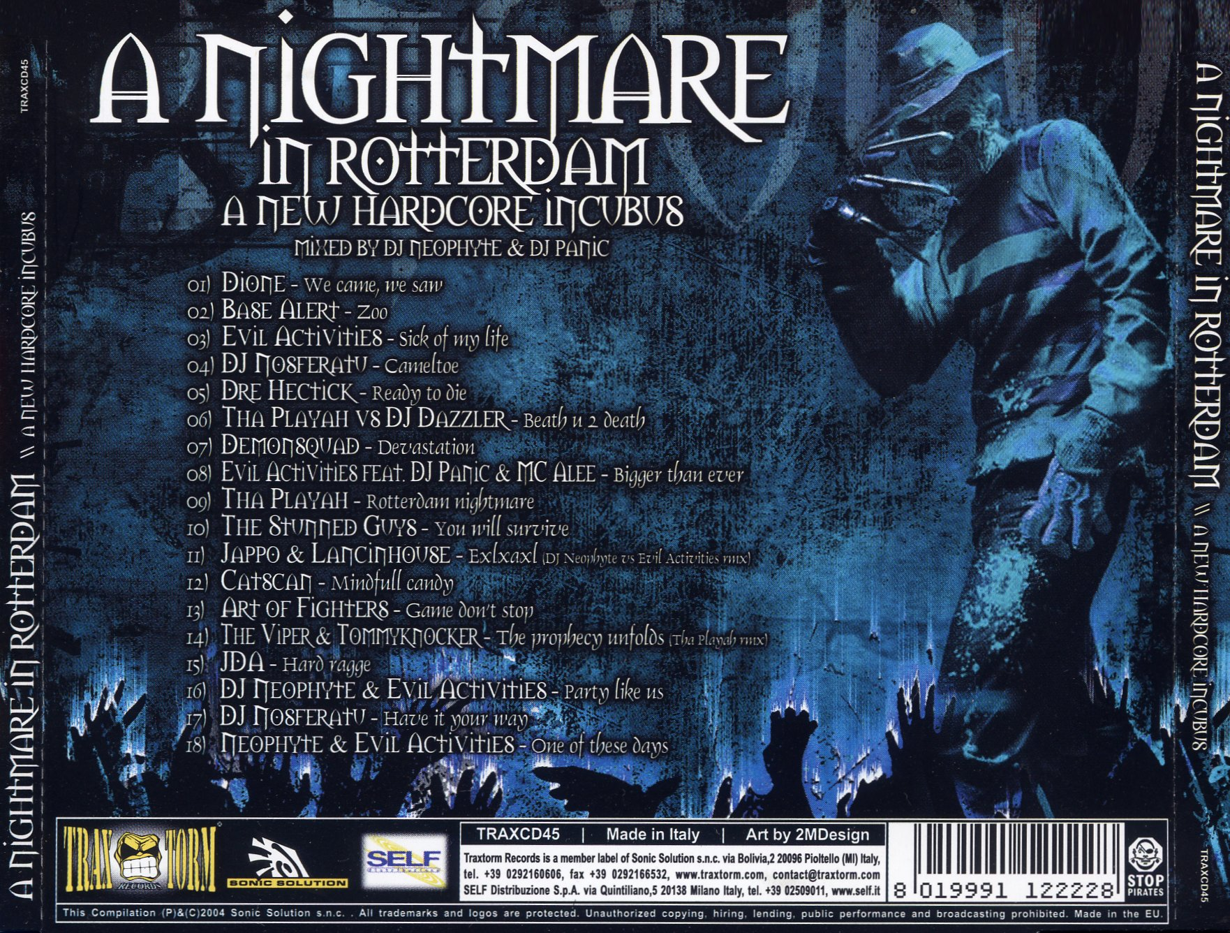 A Nightmare In Rotterdam - A New Hardcore Incubus - Back