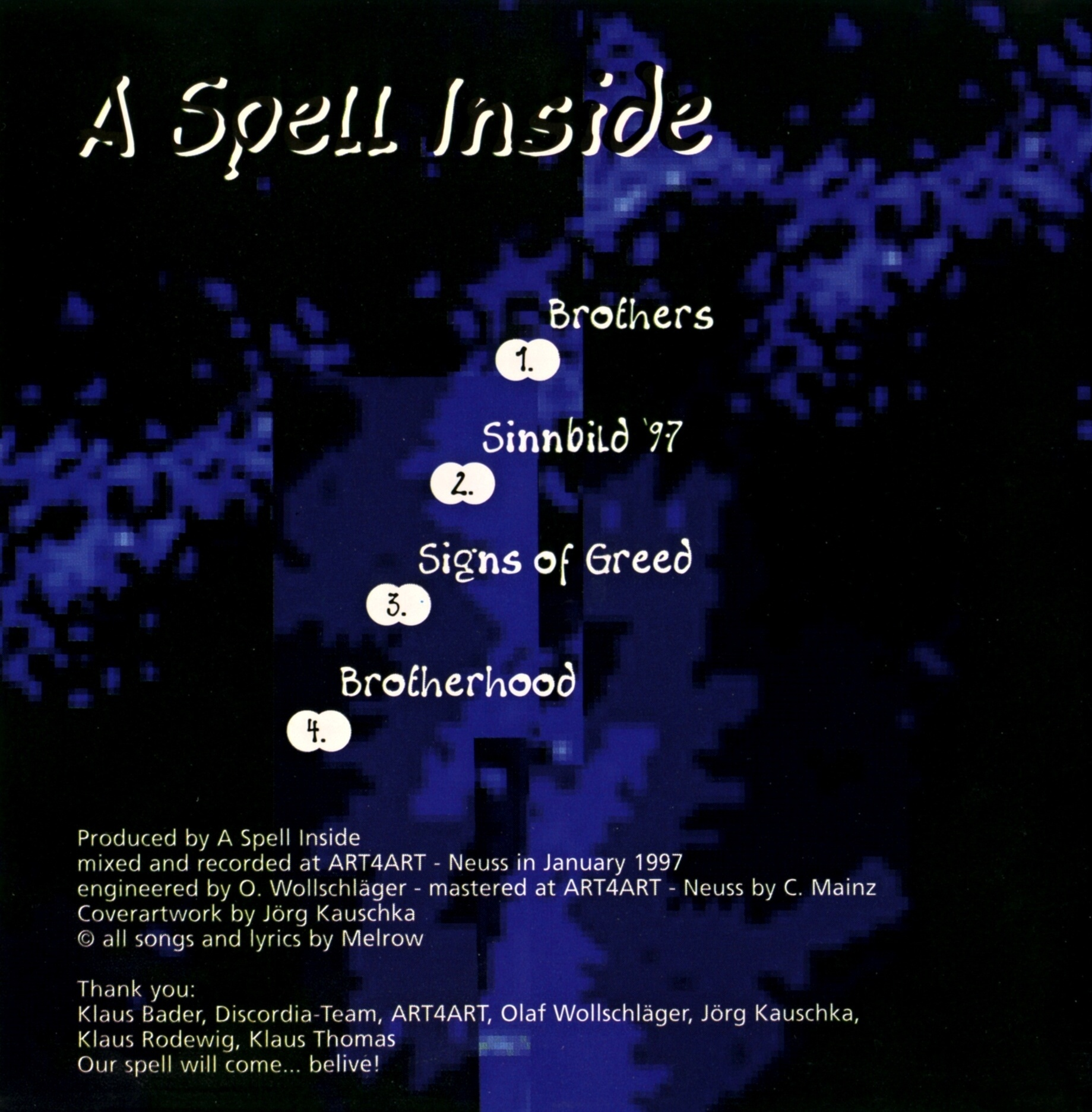 A Spell Inside - Brothers - Inside