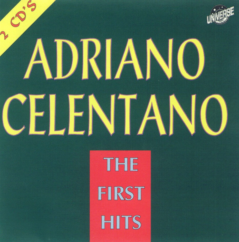 Adriano Celentano - The First Hits - Front