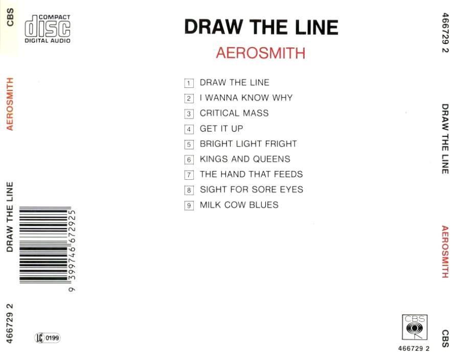 Aerosmith draw the line album cover aerosmith draw the line