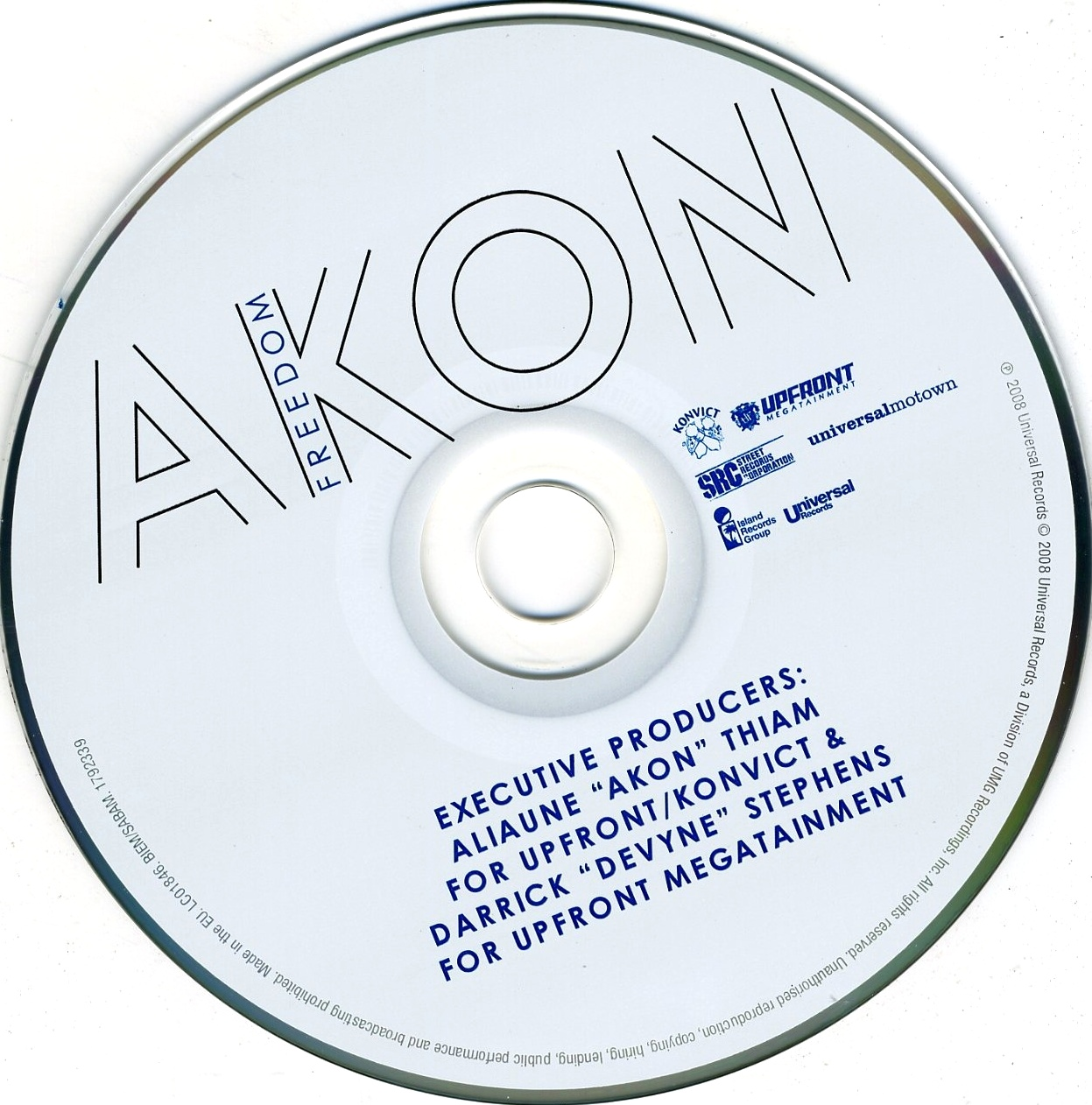 Akon - Freedom (14 Tracks) - CD