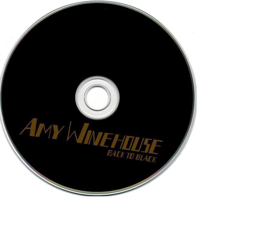 Copertina cd Amy Winehouse - Back to black - Cd, cover cd ...