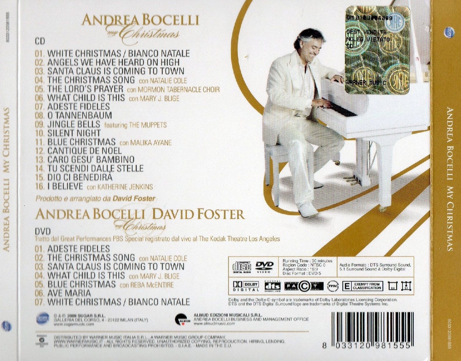 Andrea bocelli christmas back cover jpg pictures