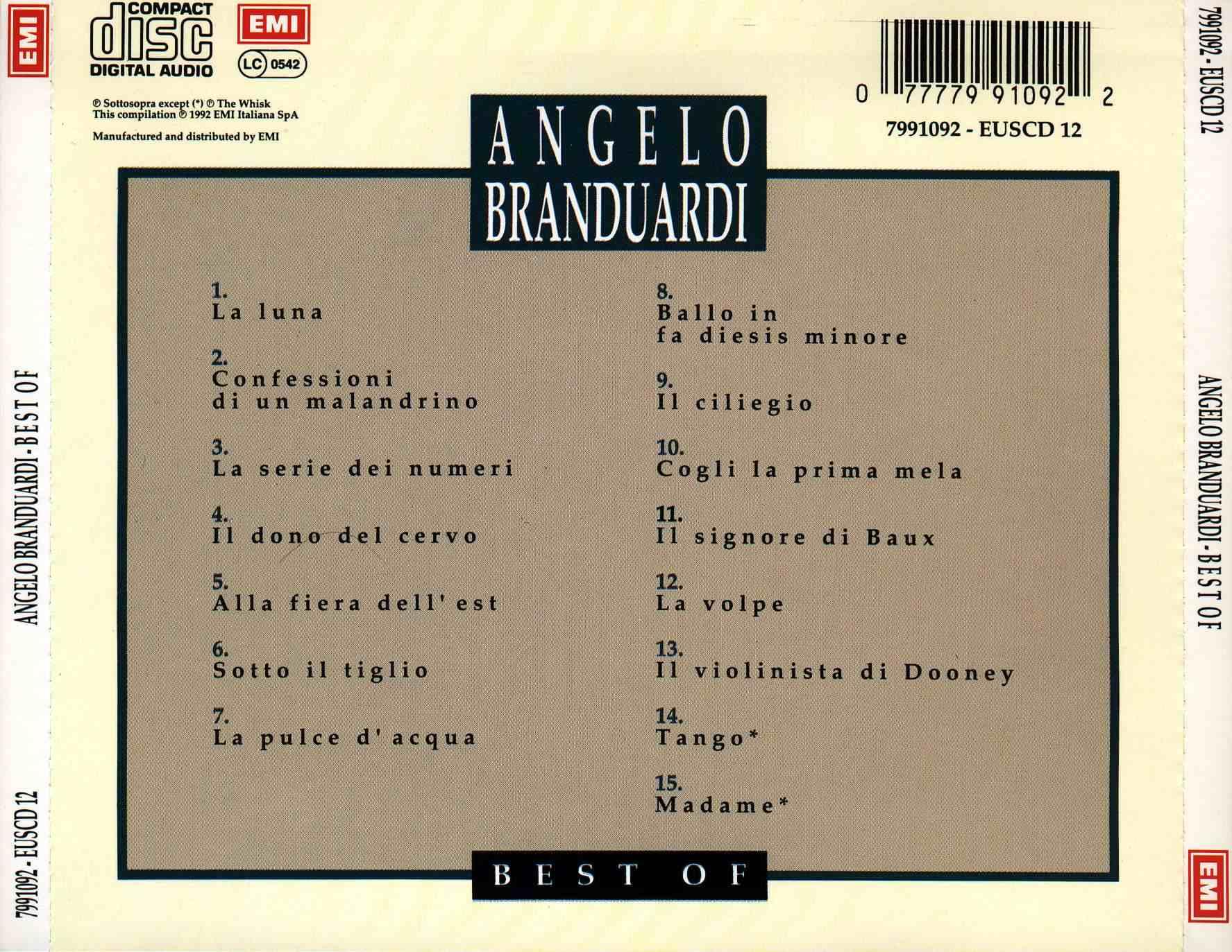 Angelo Branduardi Best of Angelo Branduardi Best of