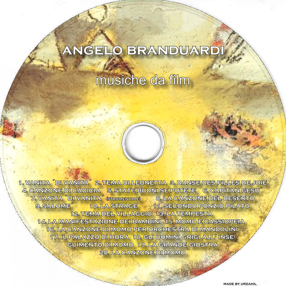 Film cd cover cd angelo branduardi musiche da film cd