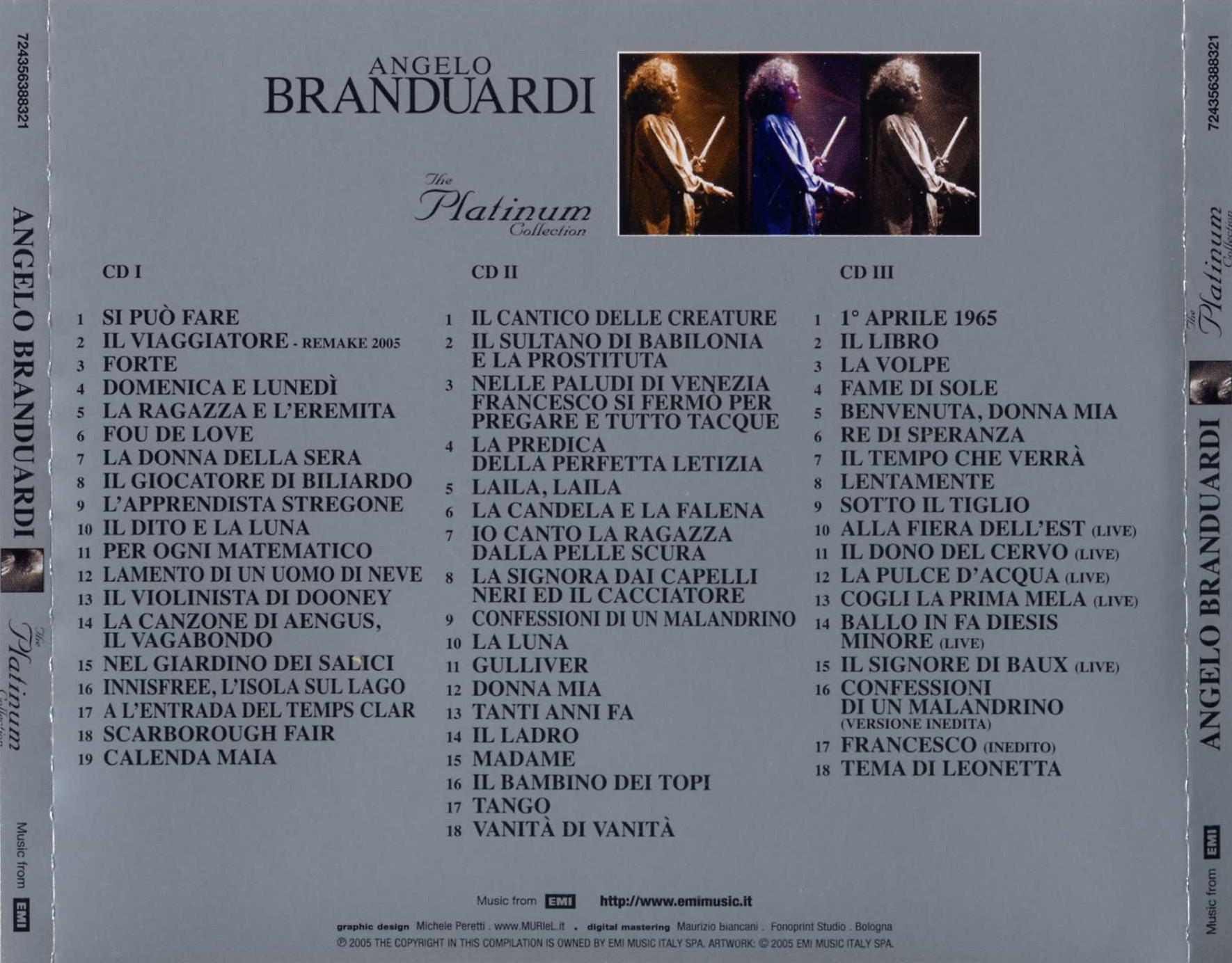 Angelo Branduardi Best of Angelo Branduardi The