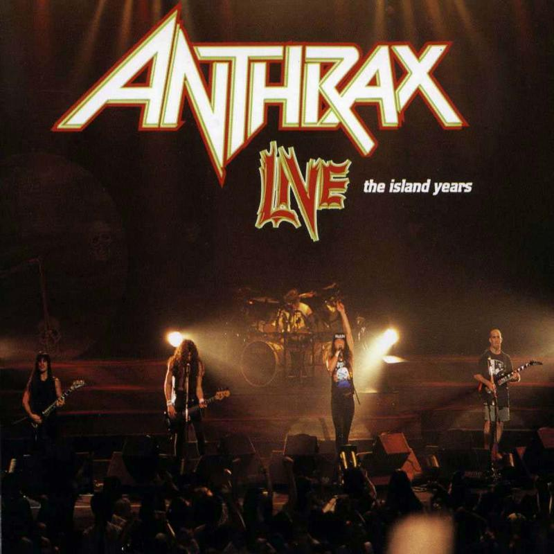Cd anthrax live the island years front cover cd anthrax live