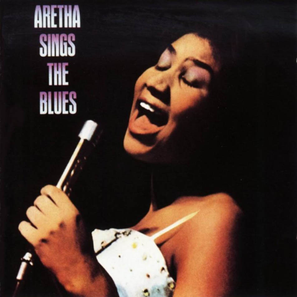 Sings the blues front cover cd aretha franklin aretha sings the