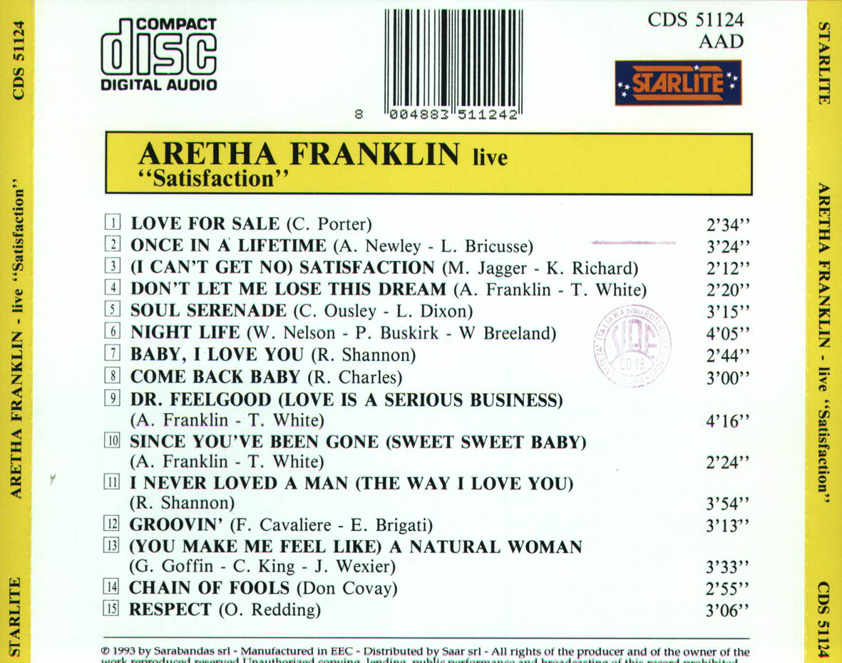 Franklin Satisfaction