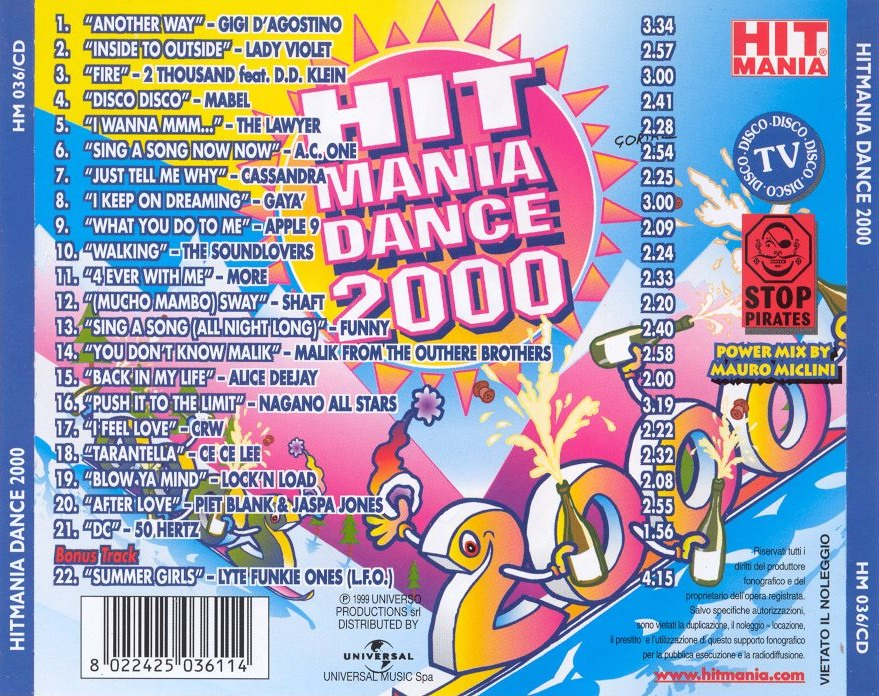 Various - Hit Mania Champions 2005