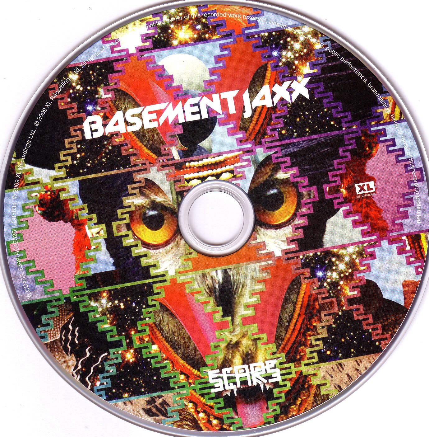 cd basement jaxx scars cd scarica la cover cd basement jaxx
