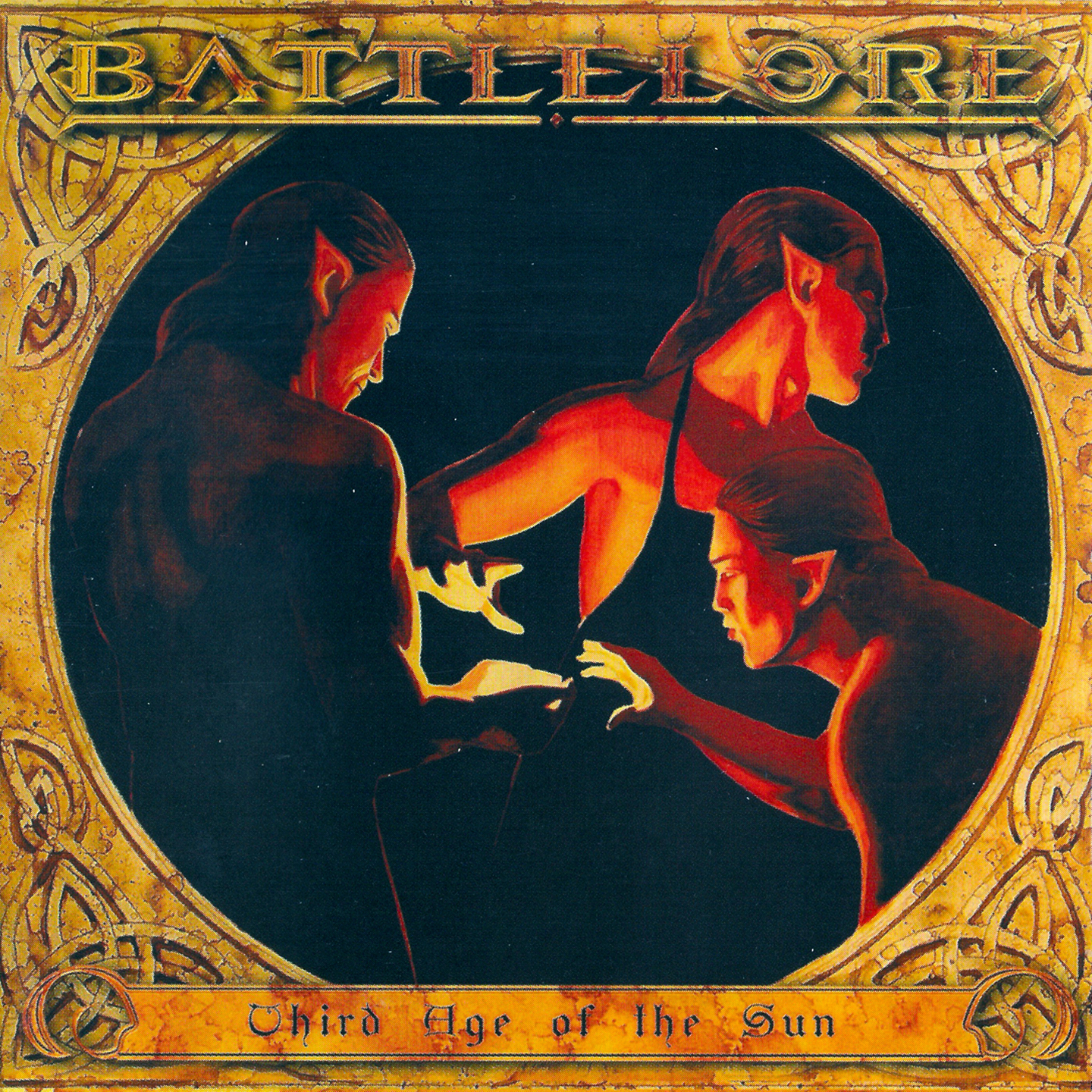 Battlelore - Third Age Of The Sun (Russia) - Front