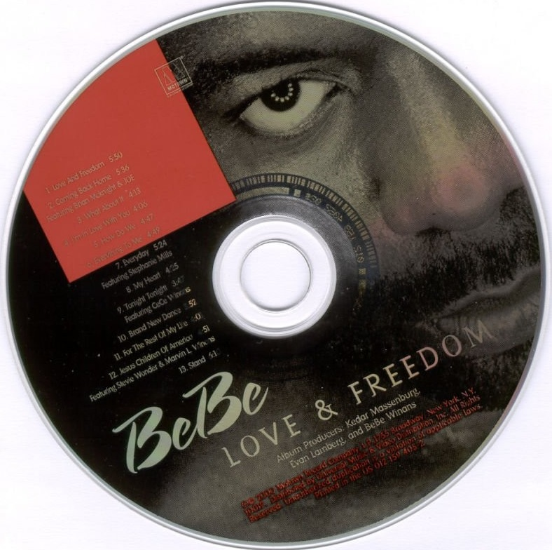 Bebe Winans - Love And Freedom - CD