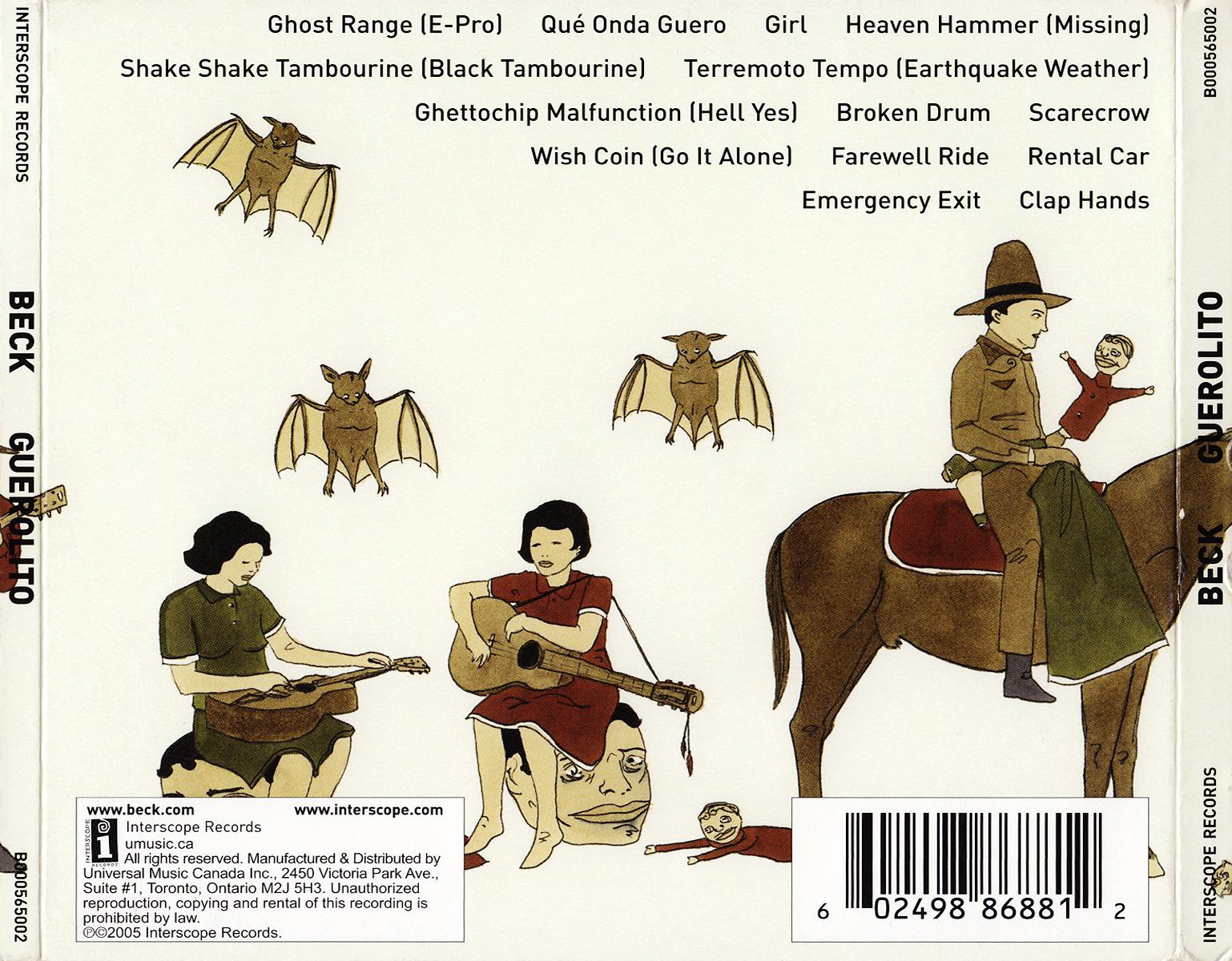 Scarica la copertina cd Beck - Guerolito - Back, scarica ...