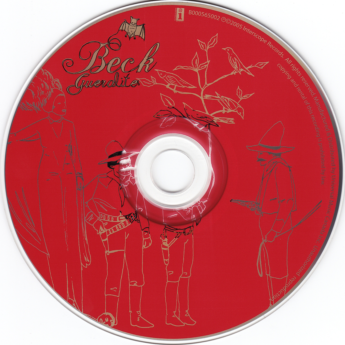 Copertina cd Beck - Guerolito - CD, cover cd Beck ...