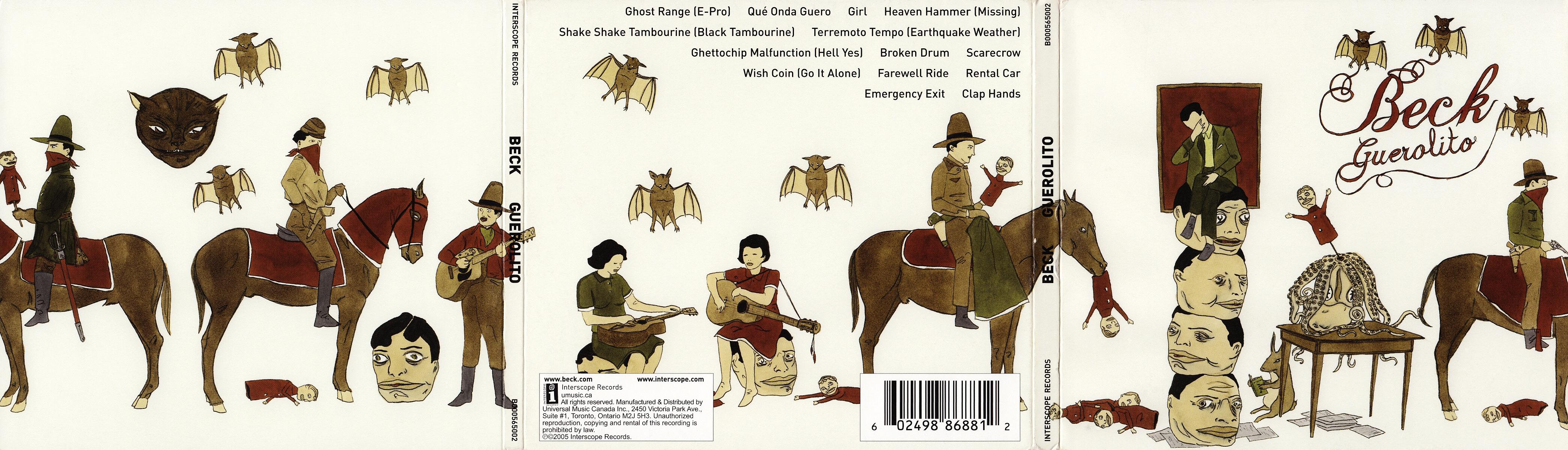 Scarica la copertina cd Beck - Guerolito - Digipack ...