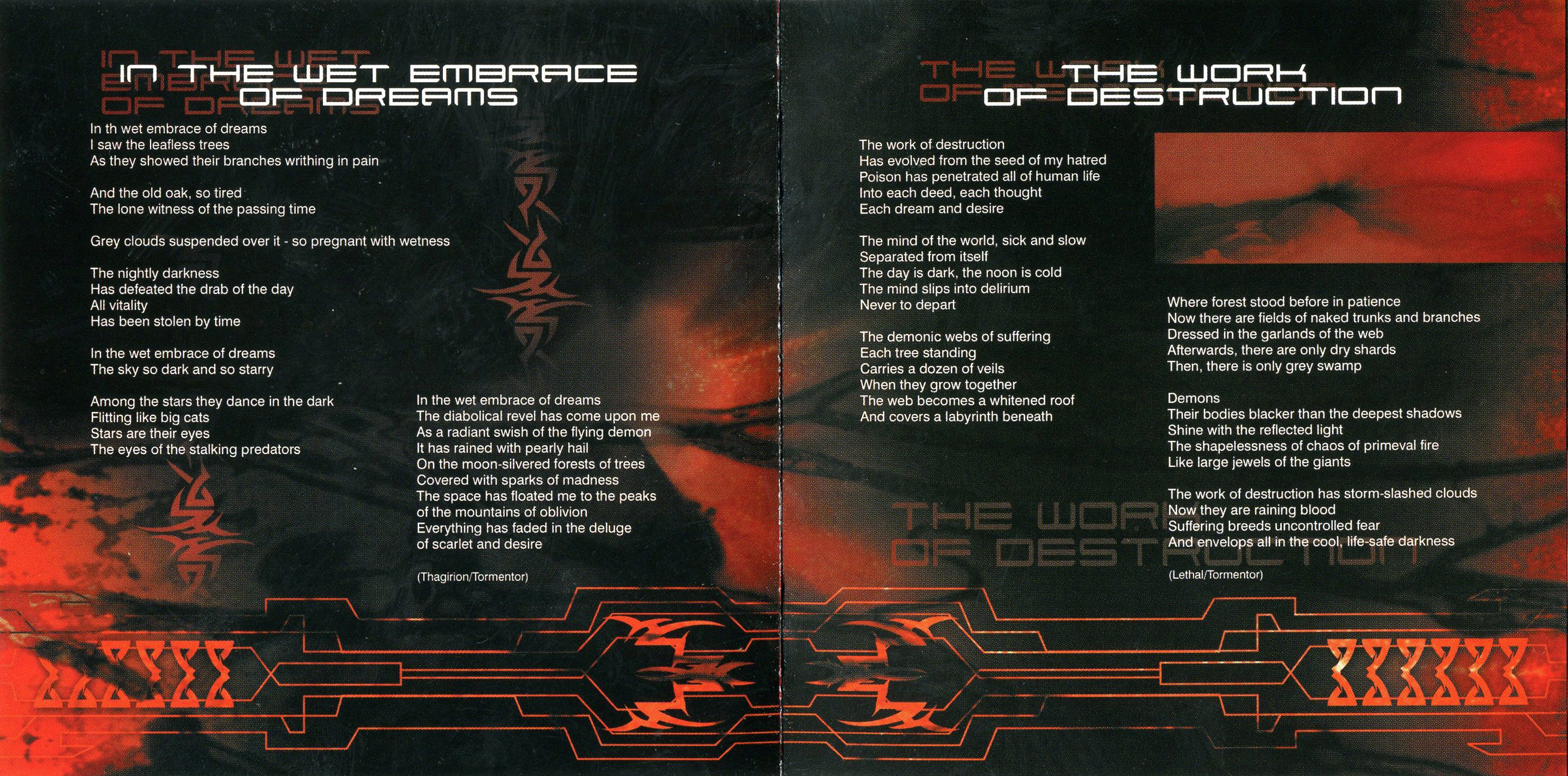 Belfegor - The Work Of Destruction (Russia) - Booklet (5-6)