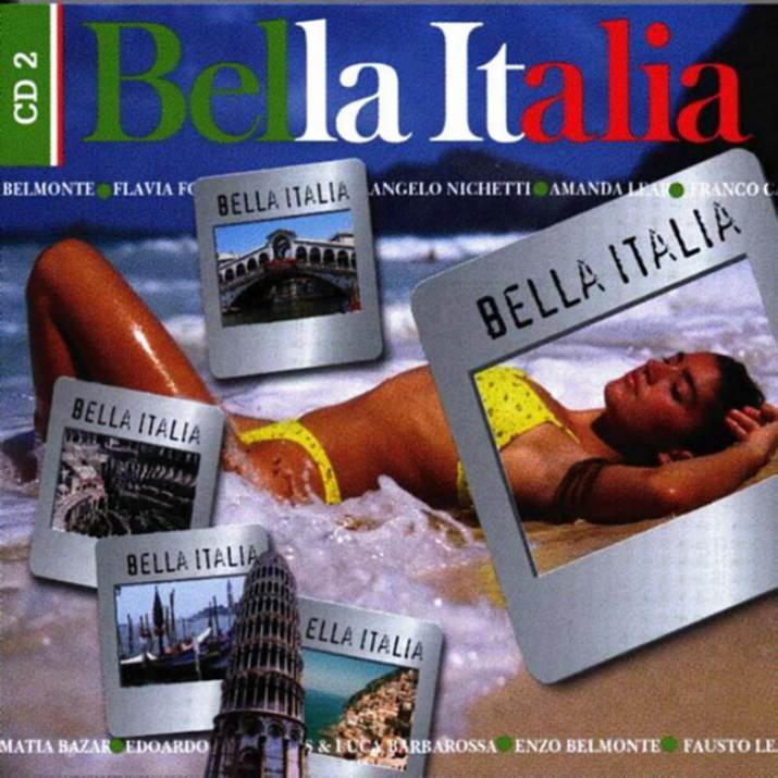 Bella Italia - CD 2 - Front