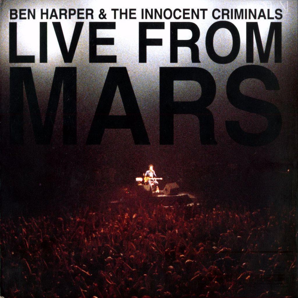 Cosa ascoltate in questi giorni? - Pagina 38 Ben_harper_-_live_from_mars_-_front