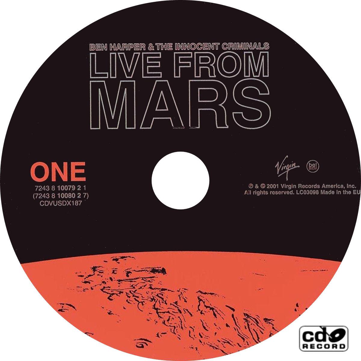 Ben Harper Alone Live from Mars - YouTube