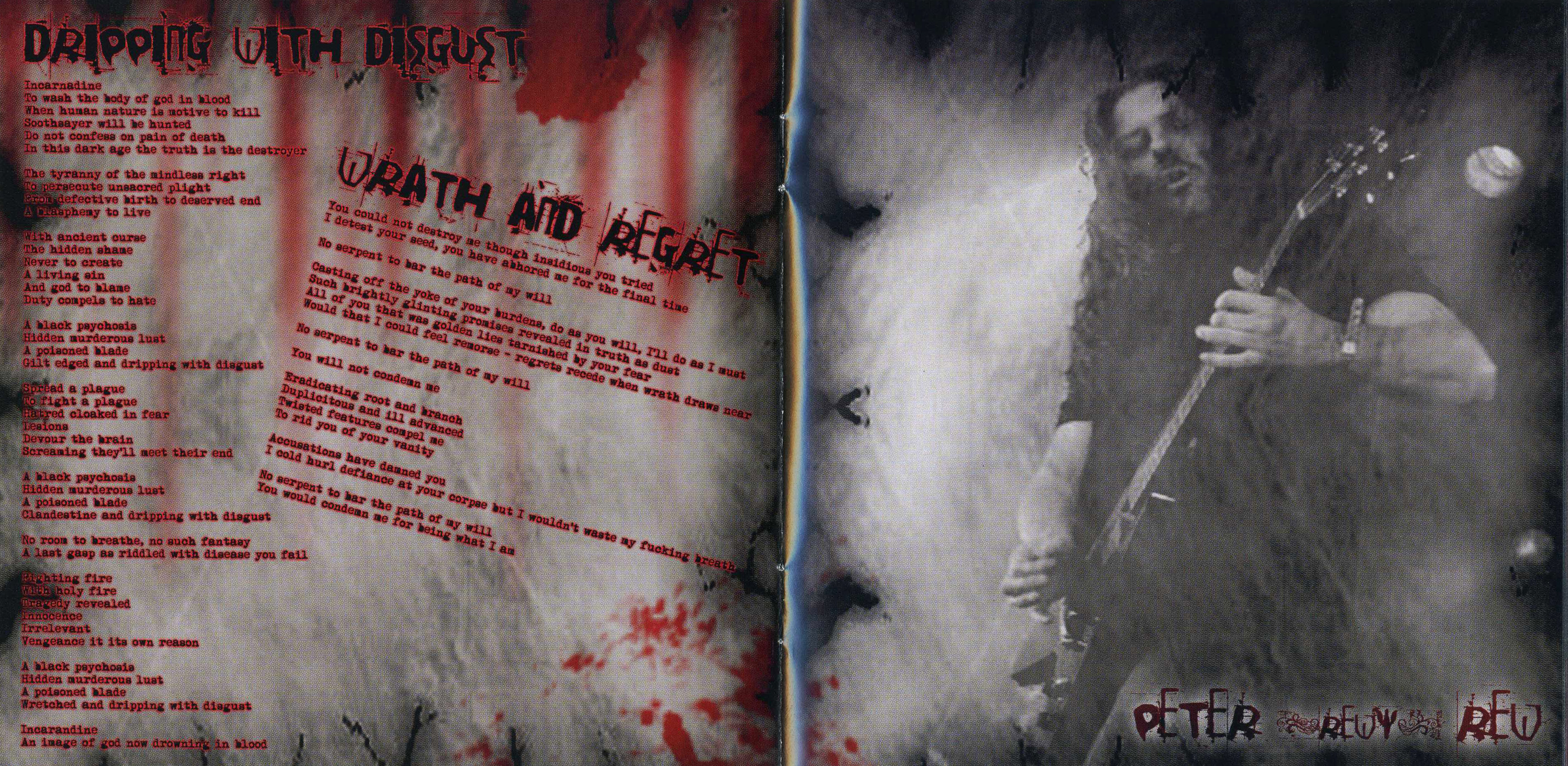 Benediction - Killing Music (Russia) - Booklet (4-8)
