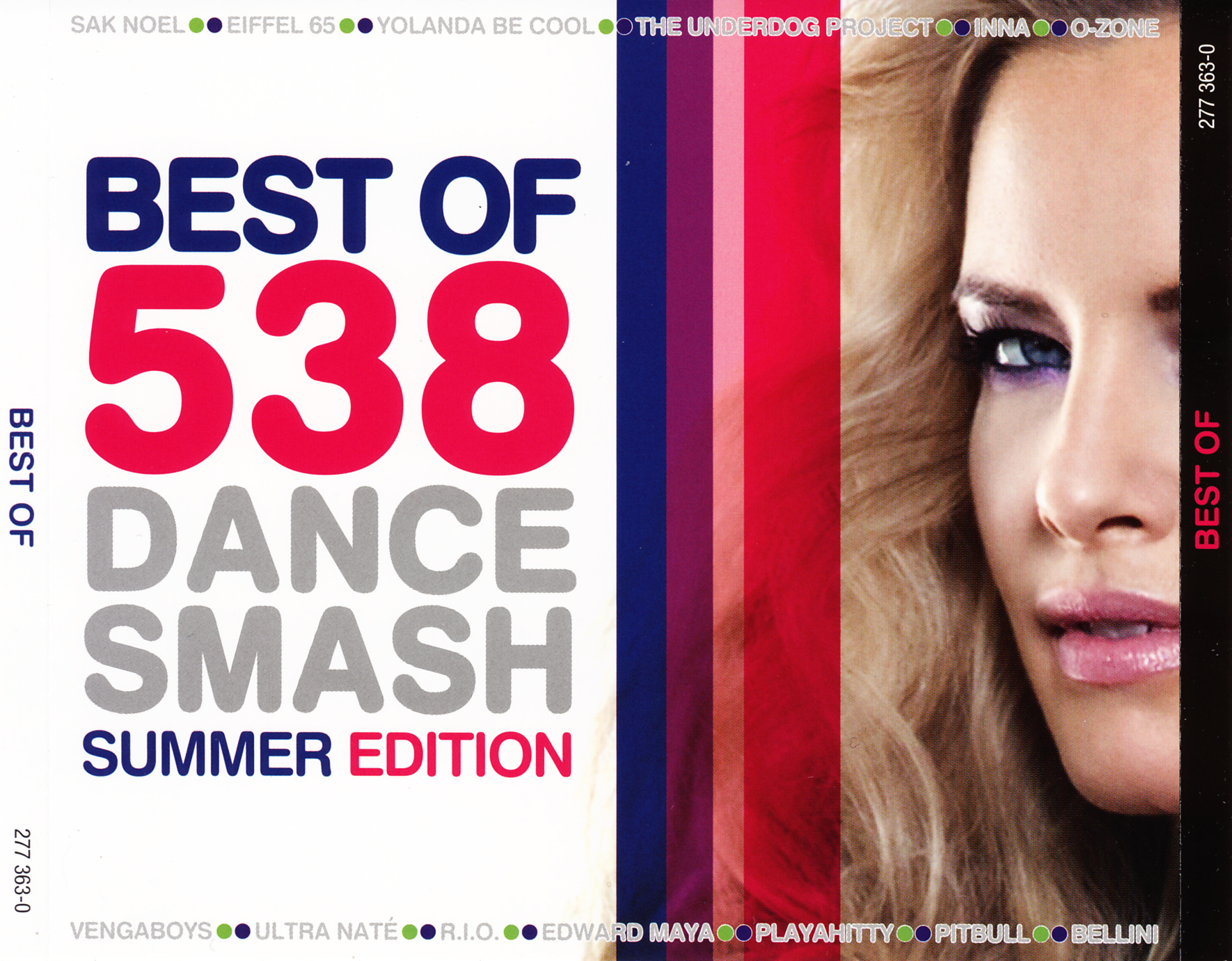 Best Of 538 Dance Smash - Summer Edition - Front (1-2)