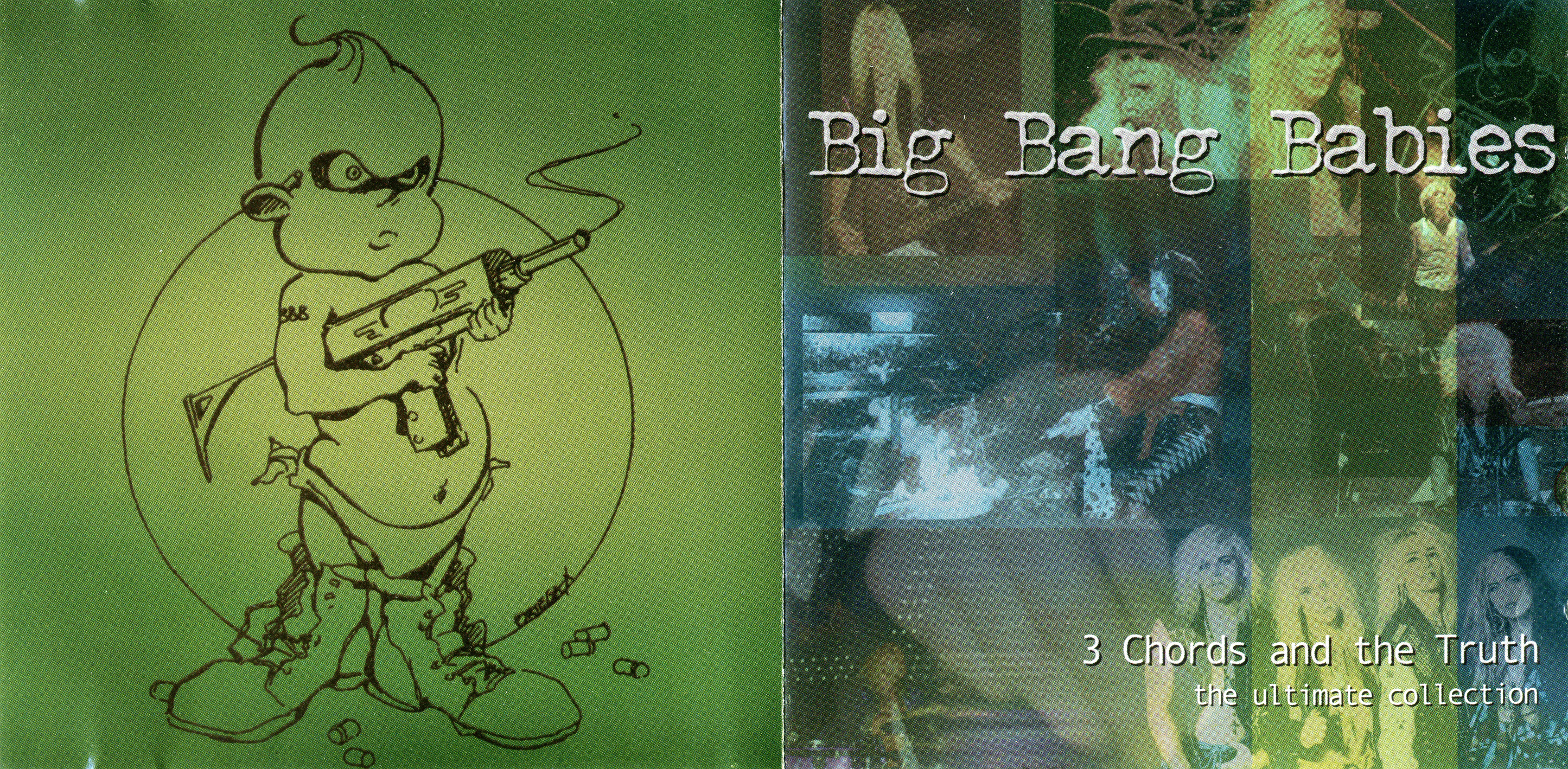 Big Bang Babies - 3 Chords And The Truth - Booklet (1-2)
