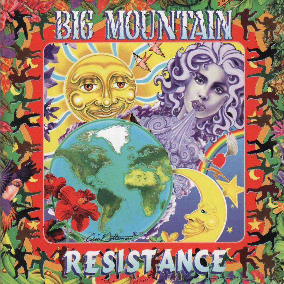 Big Mountain - Resistance - Front
