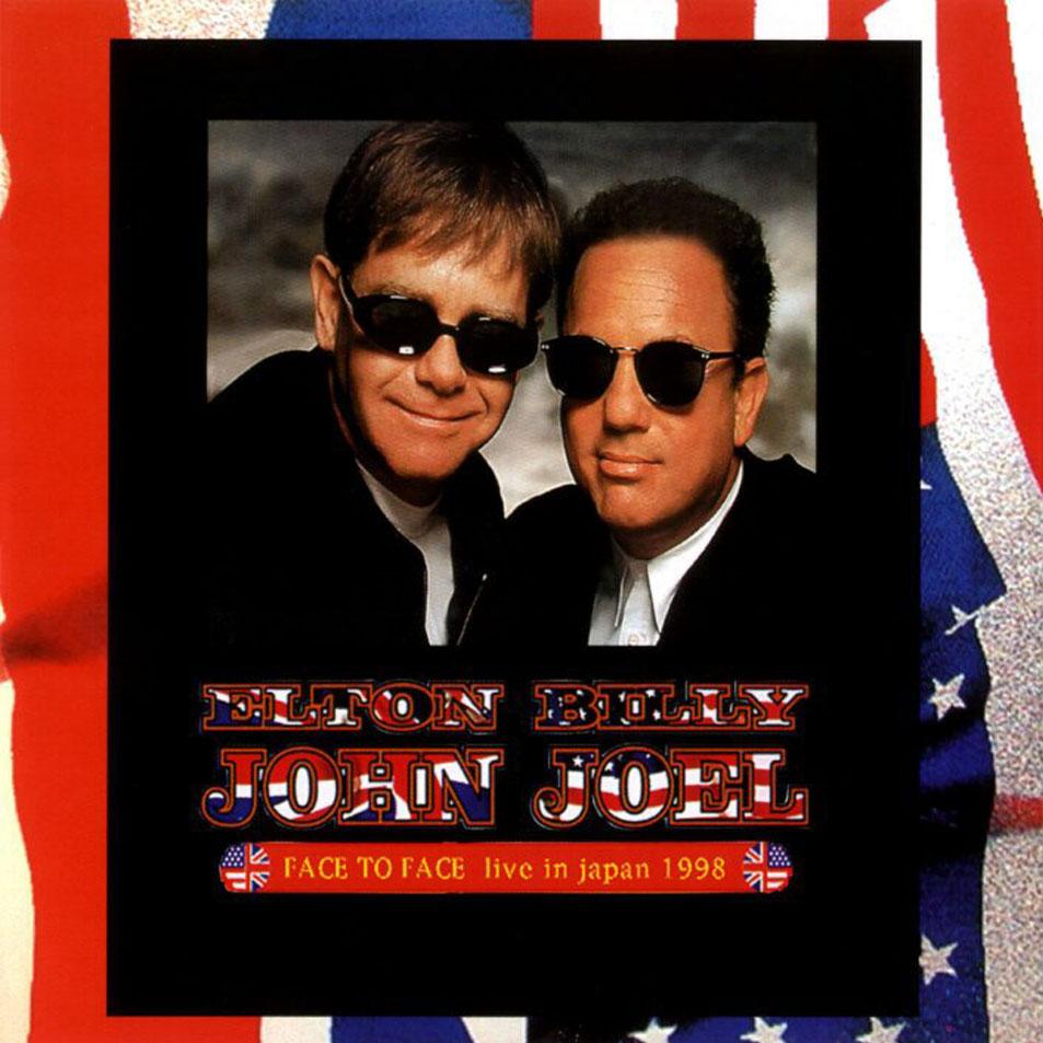 Billy Joel Elton John Face to Face cd Billy Joel And Elton John