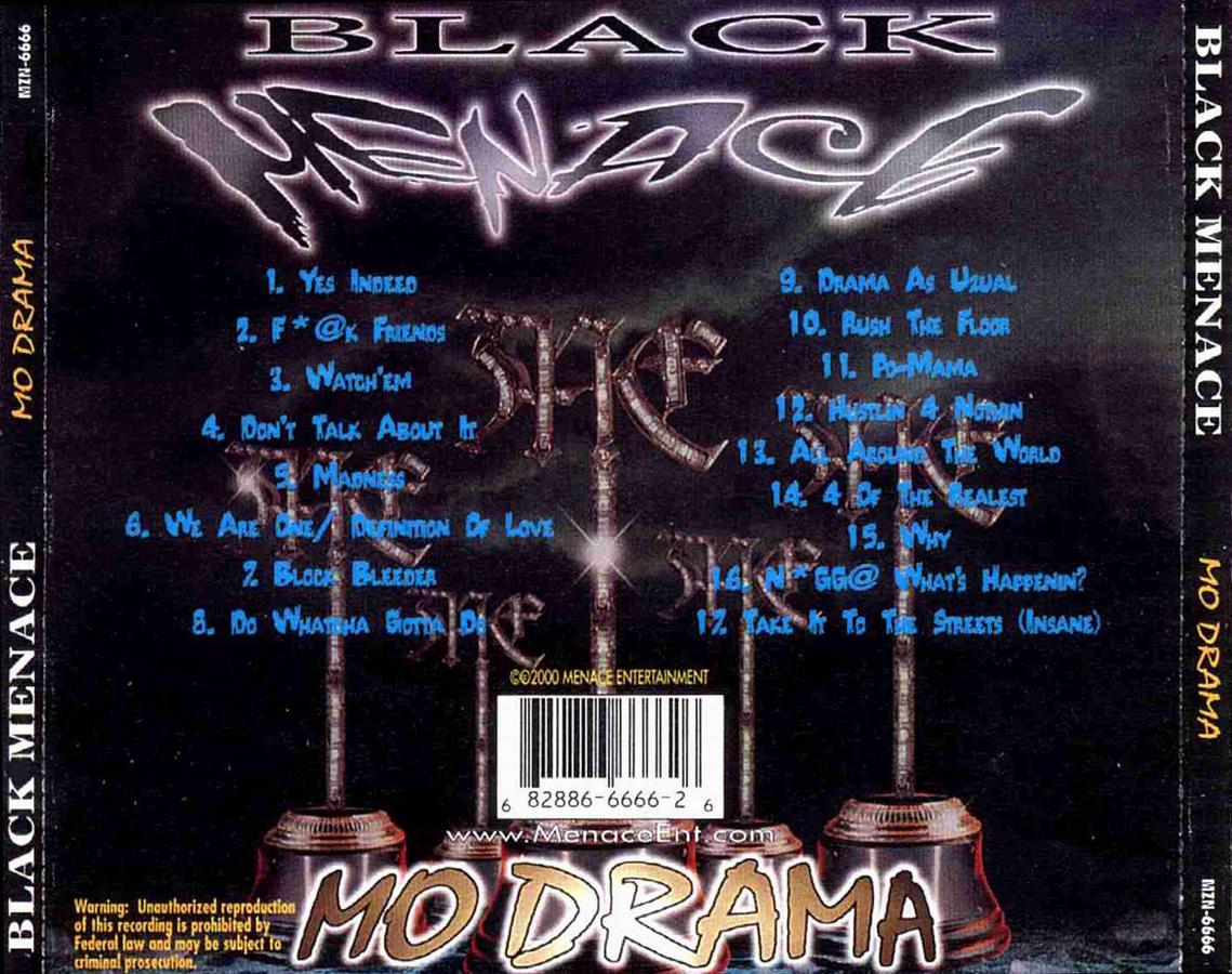 Black Menace Drama Time 34