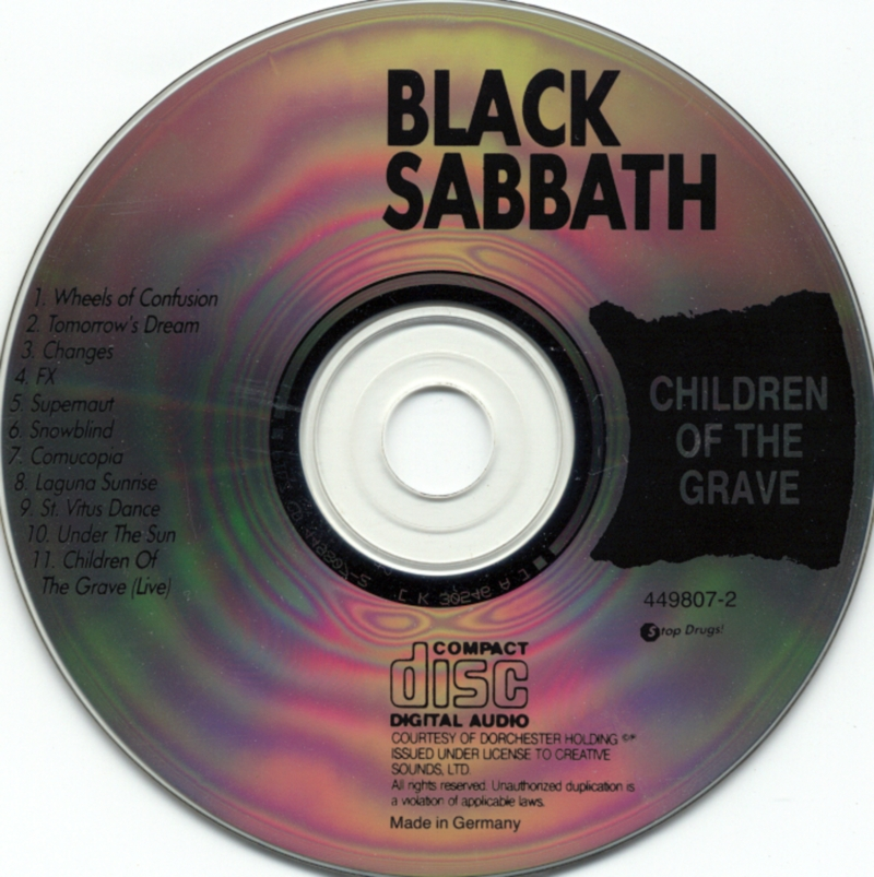 Black Sabbath - Children Of The Grave - CD