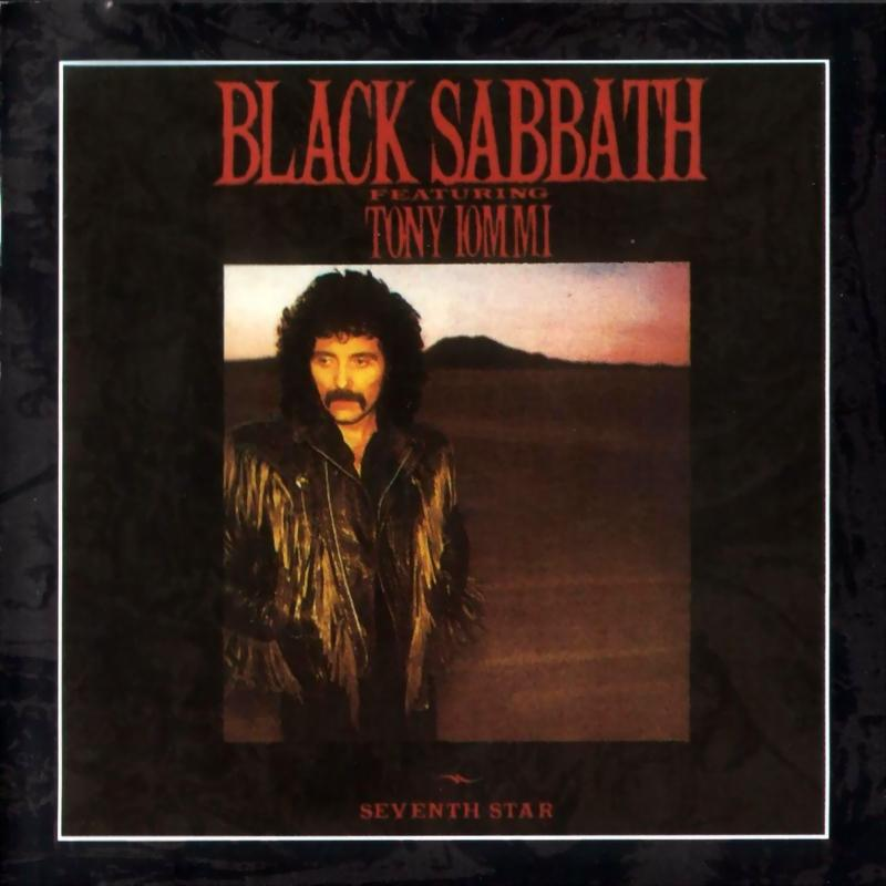 Black Sabbath - Seventh Star - Front