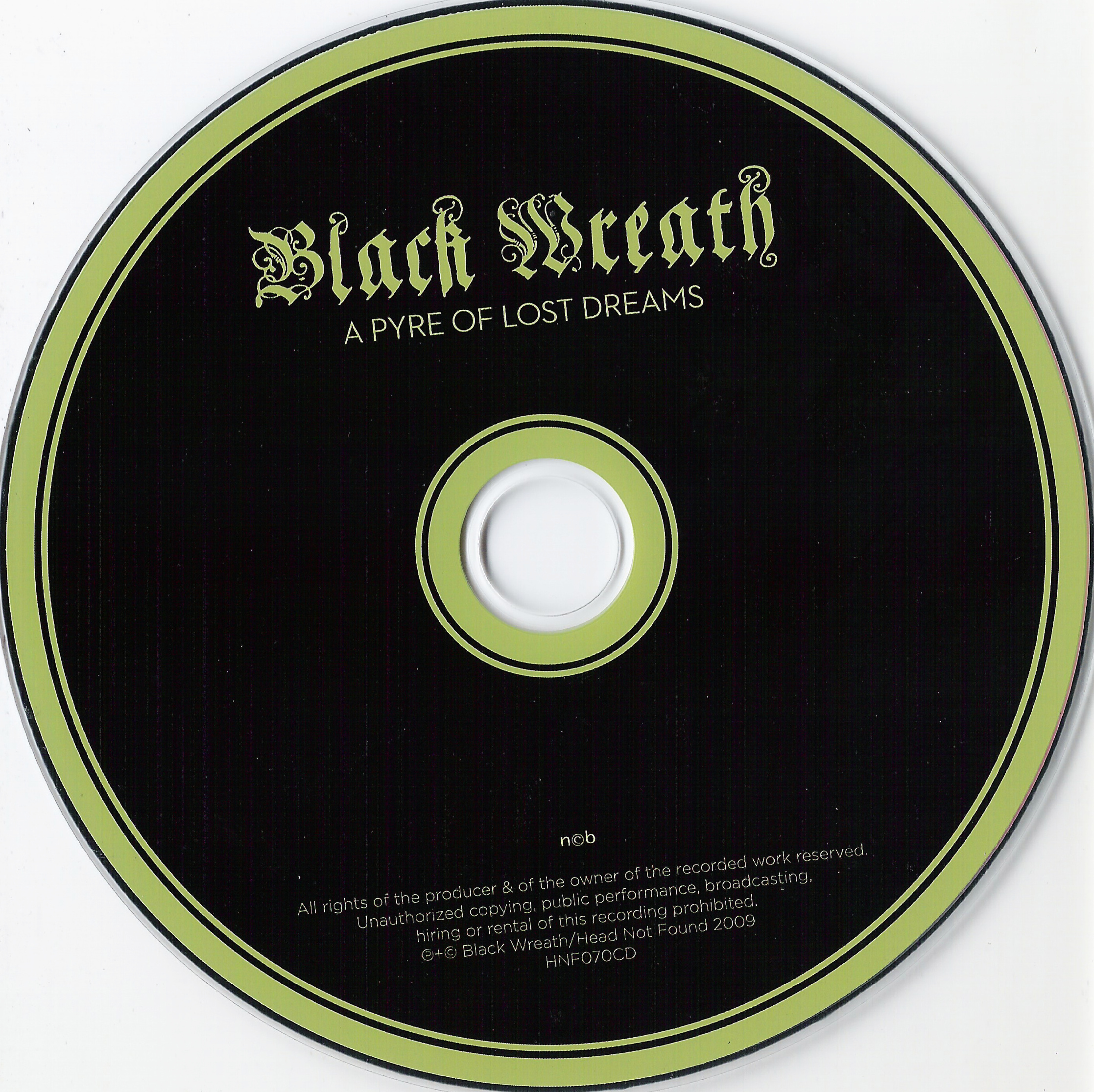 Black Wreath - A Pyre Of Lost Dreams - Booklet (5-5)