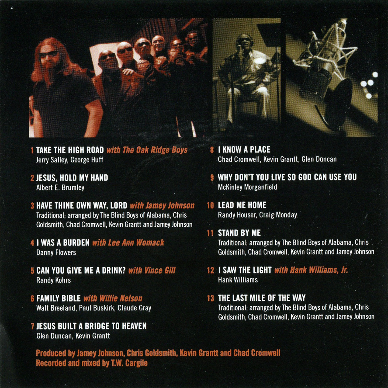 Copertina cd Blind Boys Alabama Take The High Road Inside