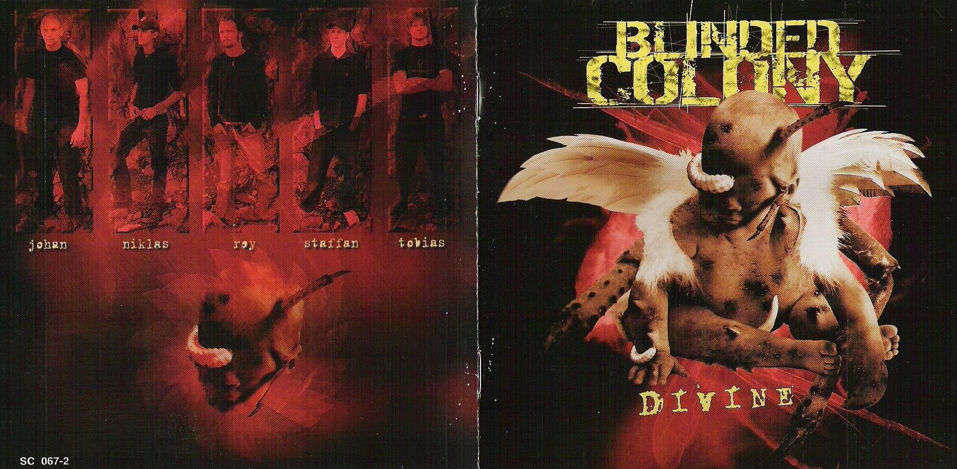 Blinded Colony - Divine - Booklet (1-4)
