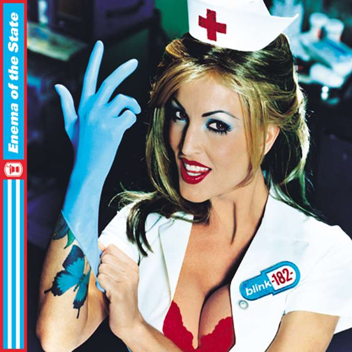 Blink 182 - enema of the state - front