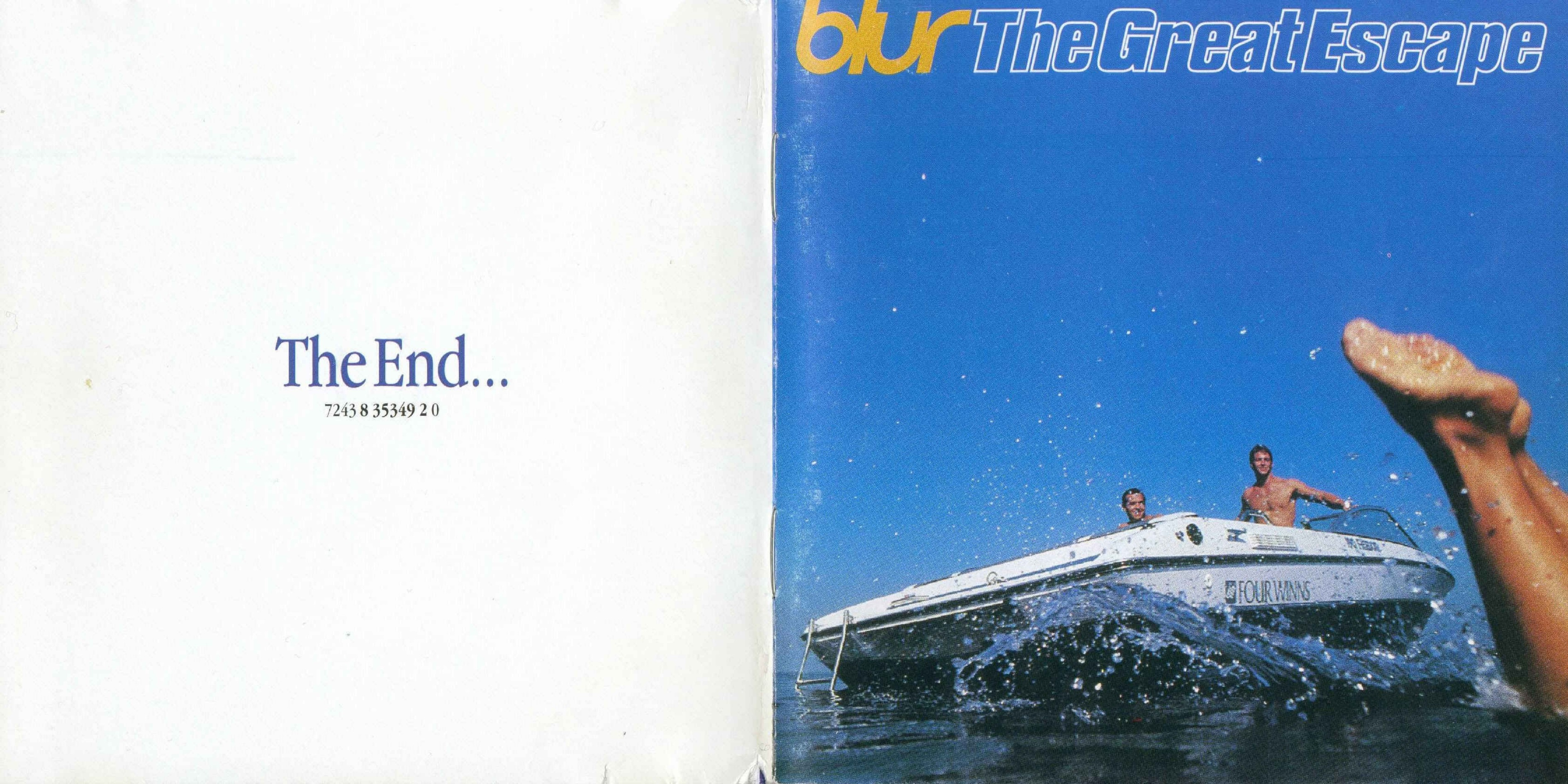 Copertina cd Blur - The Great Escape (16 Tracks) - Booklet ...