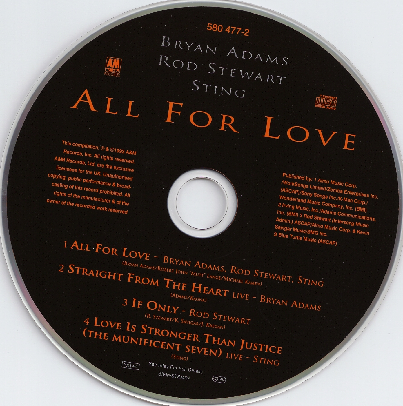 All for Love (song) - Wikipedia