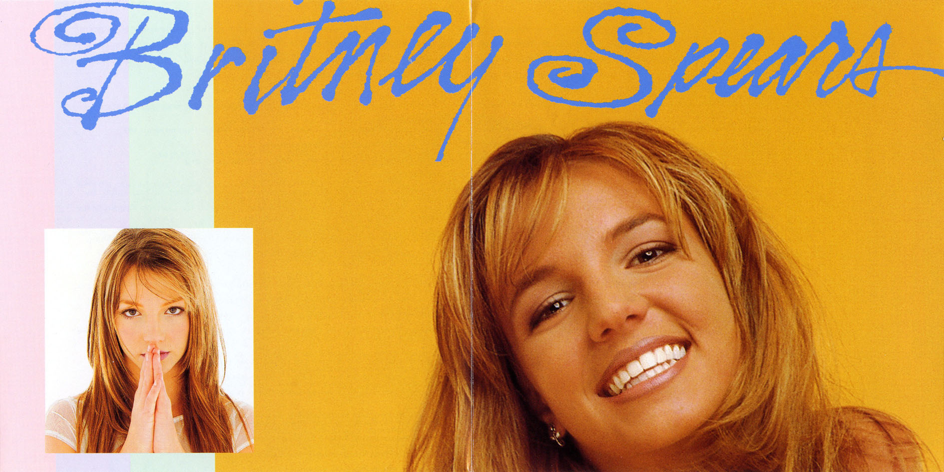 Copertina cd Britney Spears - Baby One More Time - Booklet (8-10 ...