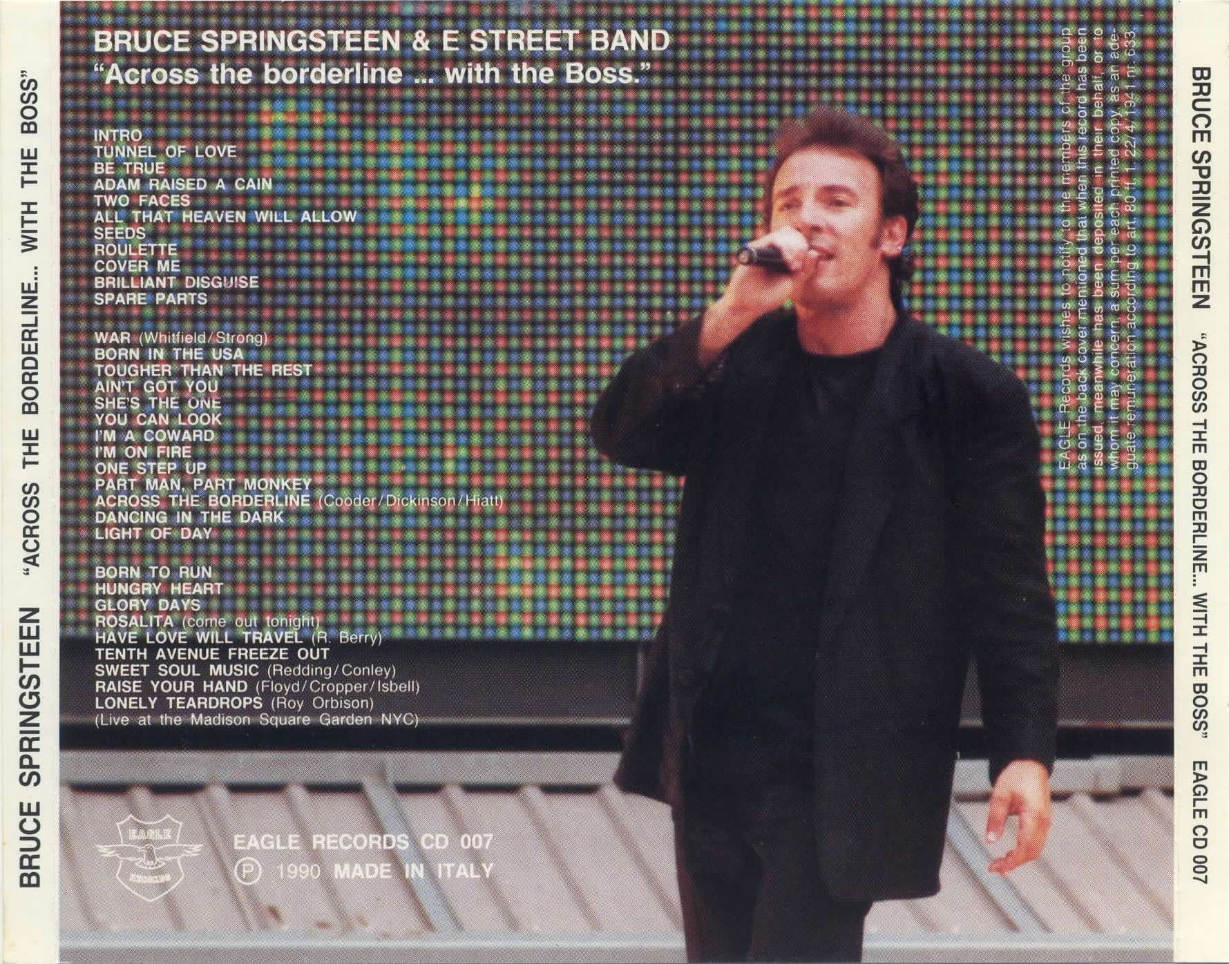 Bruce Springsteen and The E Street Band - Across The Borderline With The Boss - Back