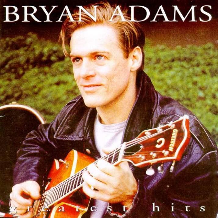 Copertina Cd Bryan Adams Greatest Hits Front Cover Cd